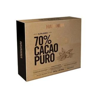 Alfajor Havanna Chocolate 70% Cacao - Caixa c/ 9 und