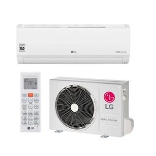 Ar Condicionado Split Inverter LG Hi Wall 9000btus Dual Voice Frio 220v
