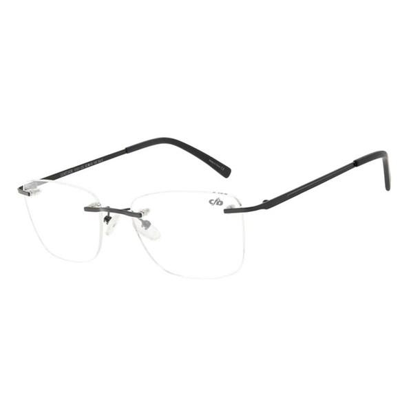 Armação Para Óculos De Grau Masculino Chilli Beans Classic 3 Peças Preto