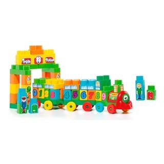 Baby Land Trenzinho Didático Cardoso Toys 70 Peças
