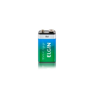 Bateria Alcalina Elgin Elgin 9V