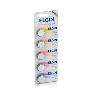 Bateria de Litio Elgin 3V CR 2032 c/5 Un