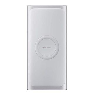 Bateria Samsung Externa Carga Rápida Wireless 10.000mah Prata