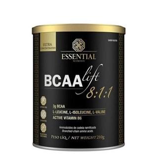 Bcaa Lift 8.1.1 Neutro 210g Essential Nutrition