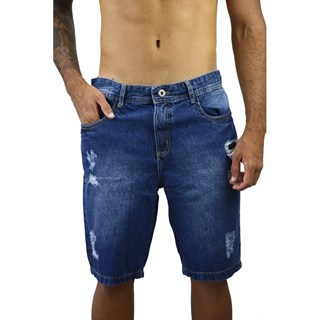 Bermuda Henks Jeans Puído 7687