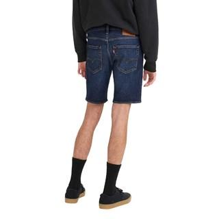 Bermuda Jeans Levis 412 Slim Masculina - Jeans Escuro