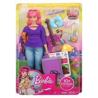 Boneca Barbie Daisy Viajante Com Adesivos - Mattel