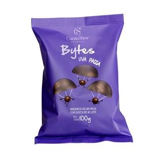 Bytes Chocolate Ao Leite Passas Cacau Show 100g