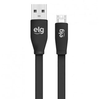 Cabo Micro USB ELG para Smartphones Recarga/Sincronização Preto