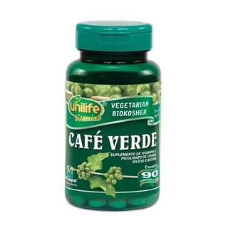 Café Verde 400mg 90 comprimidos Unilife
