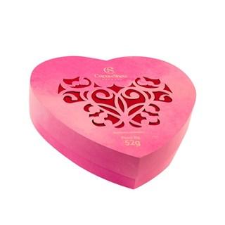 Caixa Cacau Show Coração Rosa 52g