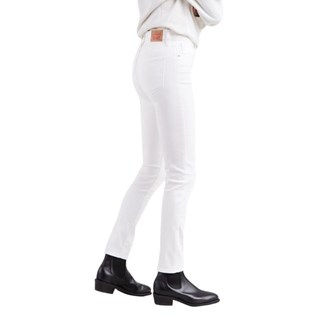 Calça Jeans Levis 721 High Rise Skinny Feminina Branca