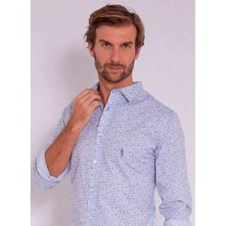 Camisa Aleatory Tech Stretch Style Branca