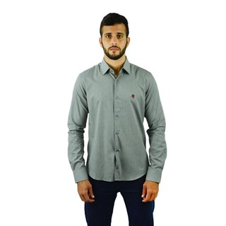 Camisa Henks Manga Longa Tricoline 7480
