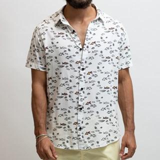 Camisa Mitchell Viscose Manga Curta 01008-2910