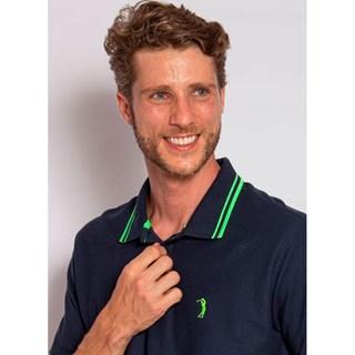 Camisa Polo Aleatory Fantastic Marinho