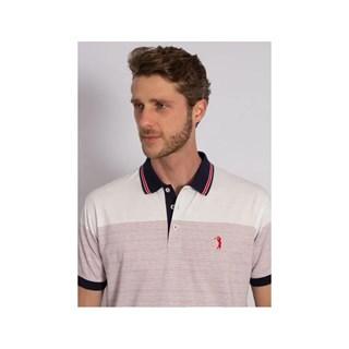 Camisa Polo Aleatory Listrada Believe