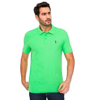 Camisa Polo Aleatory Piquet Pima Lisa  Verde