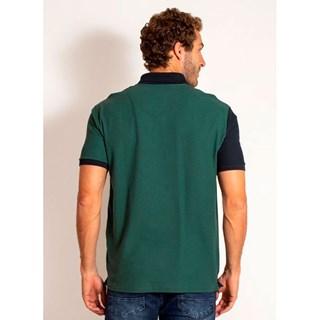 Camisa Polo Aleatory Piquet React Verde