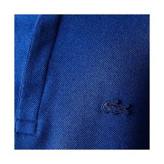 Camisa Polo Lacoste Masculina Regular Fit Em Mistura De Linho E Algodão REF PH5060-21