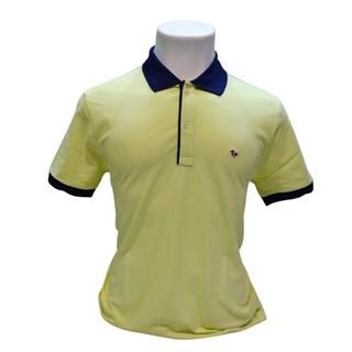 Camisa Polo Lisa Pismell Manga Curta