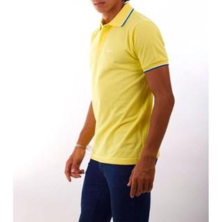 Camisa Polo Mitchell Piquet Friso Contrastante 01112-3200