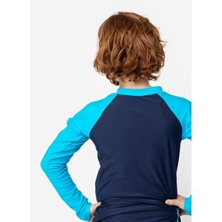 Camiseta Básica Puket Menino Teen Azul Marinho