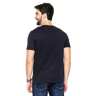 Camiseta Hering Mm Manga Curta Com Decote V Masculina 022BAX7EN