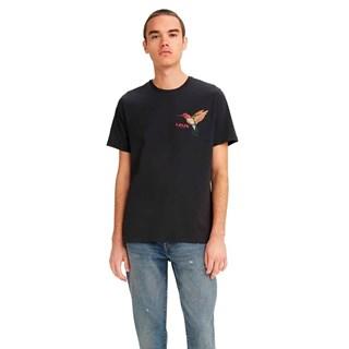 Camiseta Levis Graphic Crewneck Masculina Preto