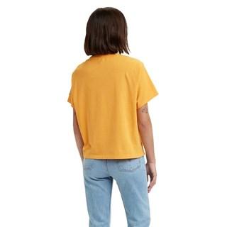 Camiseta Levis Graphic Varsity Feminina Amarela