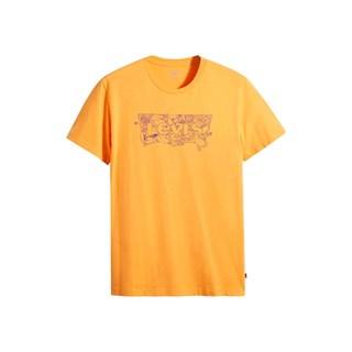 Camiseta Levis Housemark Graphic Masculina Amarelo