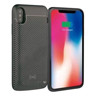 Capa Bateria Loft Carbon Wireless Iphone X-Xs 3000Mah