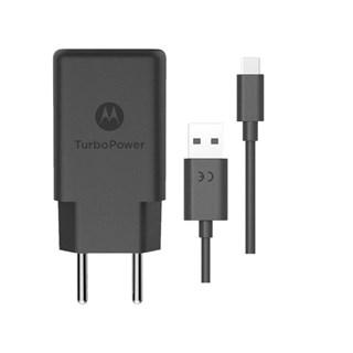 Carregador de Parede Motorola 18W USB-C Preto