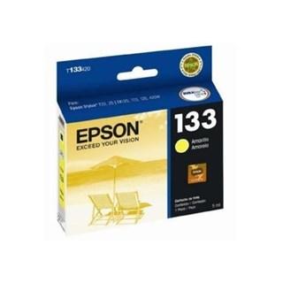 Cartucho de Tinta Epson 133 Amarelo 355 Páginas
