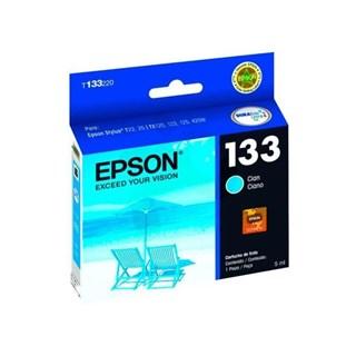 Cartucho de Tinta Epson 133 Azul 355 Páginas T133220-BR