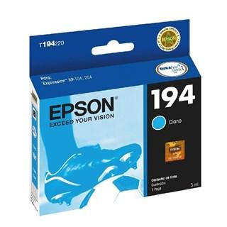 Cartucho de Tinta Epson 194 Azul 150 Páginas
