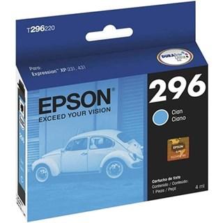Cartucho de Tinta Epson 296 Azul 250 Páginas T296220-BR