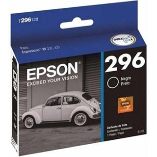 Cartucho de Tinta Epson 296 Preto 130 Páginas T296120-BR