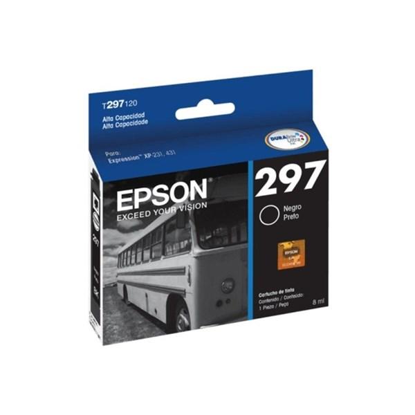 Cartucho de Tinta Epson 297 Preto Alta Capacidade 300 Páginas T297120-BR