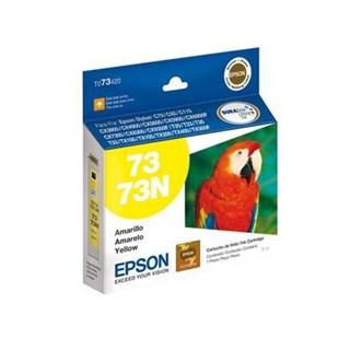 Cartucho de Tinta Epson 73 Amarelo 390 Páginas T073420BR
