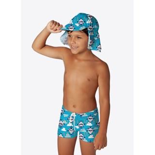 Chapéu Puket Kids Tubarão Azul