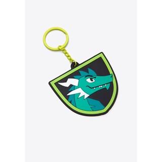 Chaveiro Puket Emborrachado Dragão Verde