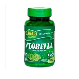 Clorella Microalgas 60 Cápsulas 500mg Unilife