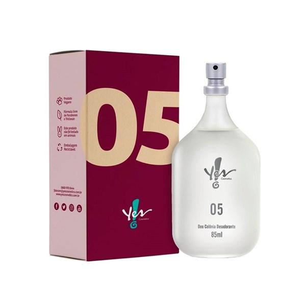 Colônia Desodorante Yes! 05  85ml