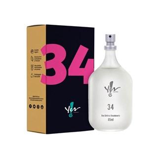 Colônia Desodorante Yes! 34  85ml