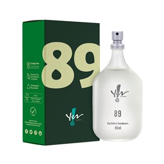 Colônia Desodorante Yes! 89  85ml