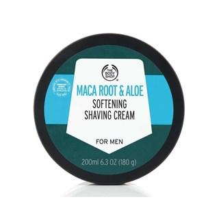 Creme de Barbear The Body Shop Maca Root & Aloe Vera 200ml