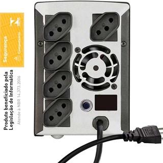 Estabilizador Modulo Isolador SMS Bivolt 500VA Progressive III NT