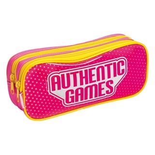 Estojo 02 Compartimentos Authentic Games 20M Lidia Rosa