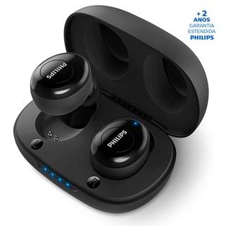Fone de Ouvido Philips Bluetooth TWS TAUT102BK/00 Preto